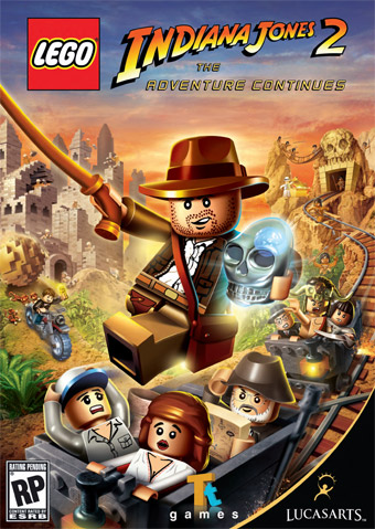 Lego Indiana Jones 2 Jaquette